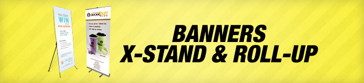 Stand + Banner